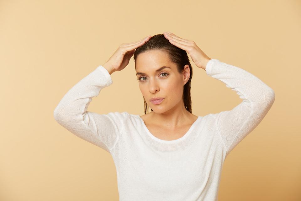 Haare spuehlung kopfhaut