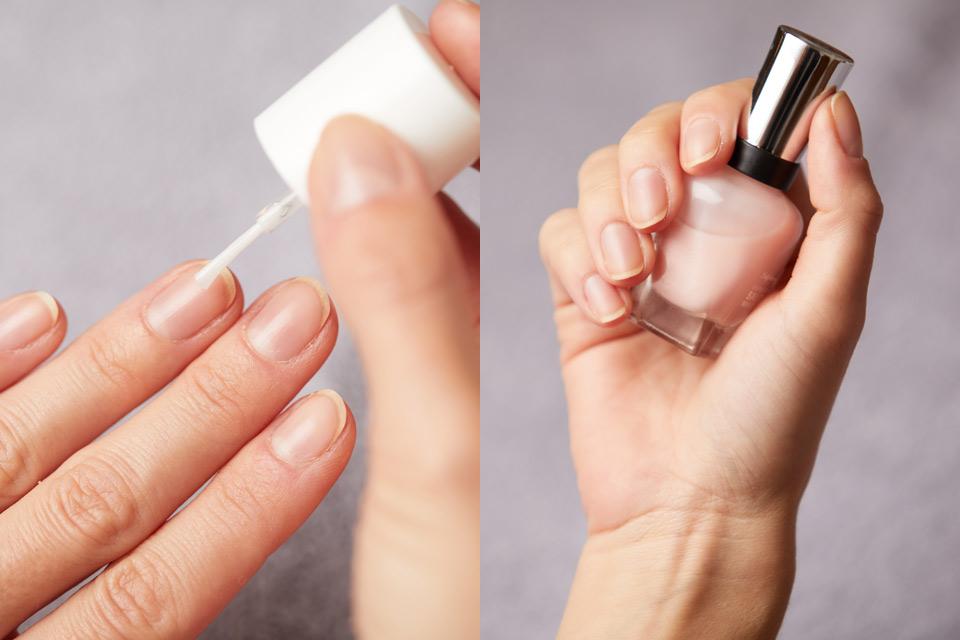 nagellack lackieren pflege naegel