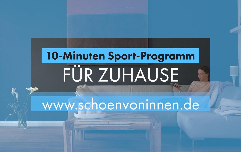 10 minuten sport programm zuhause