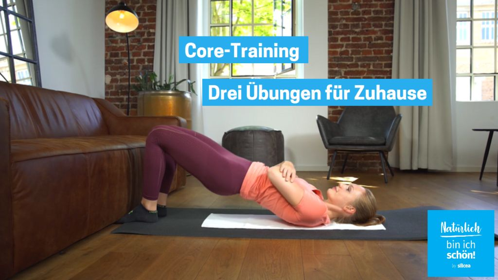 Core-Training: Drei effektive Übungen für Bauch und Rücken