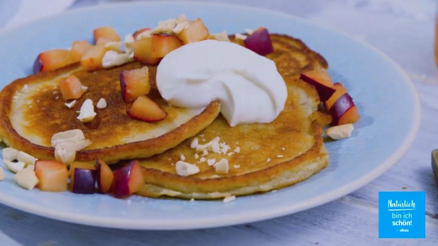Rezept: gesunde Bananen-Pancakes